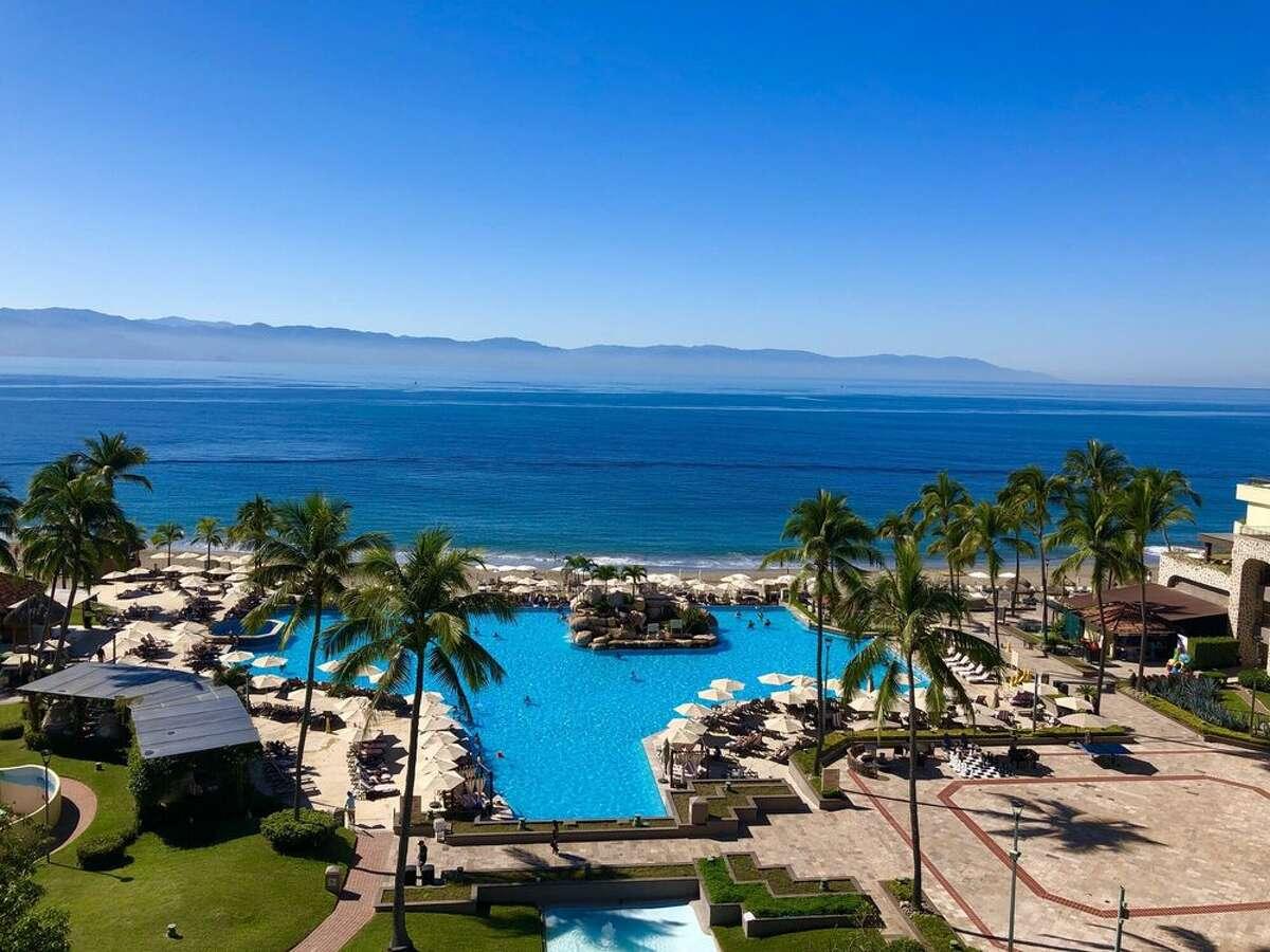 The Marriott Resort in Puerto Vallarta, Mexico.