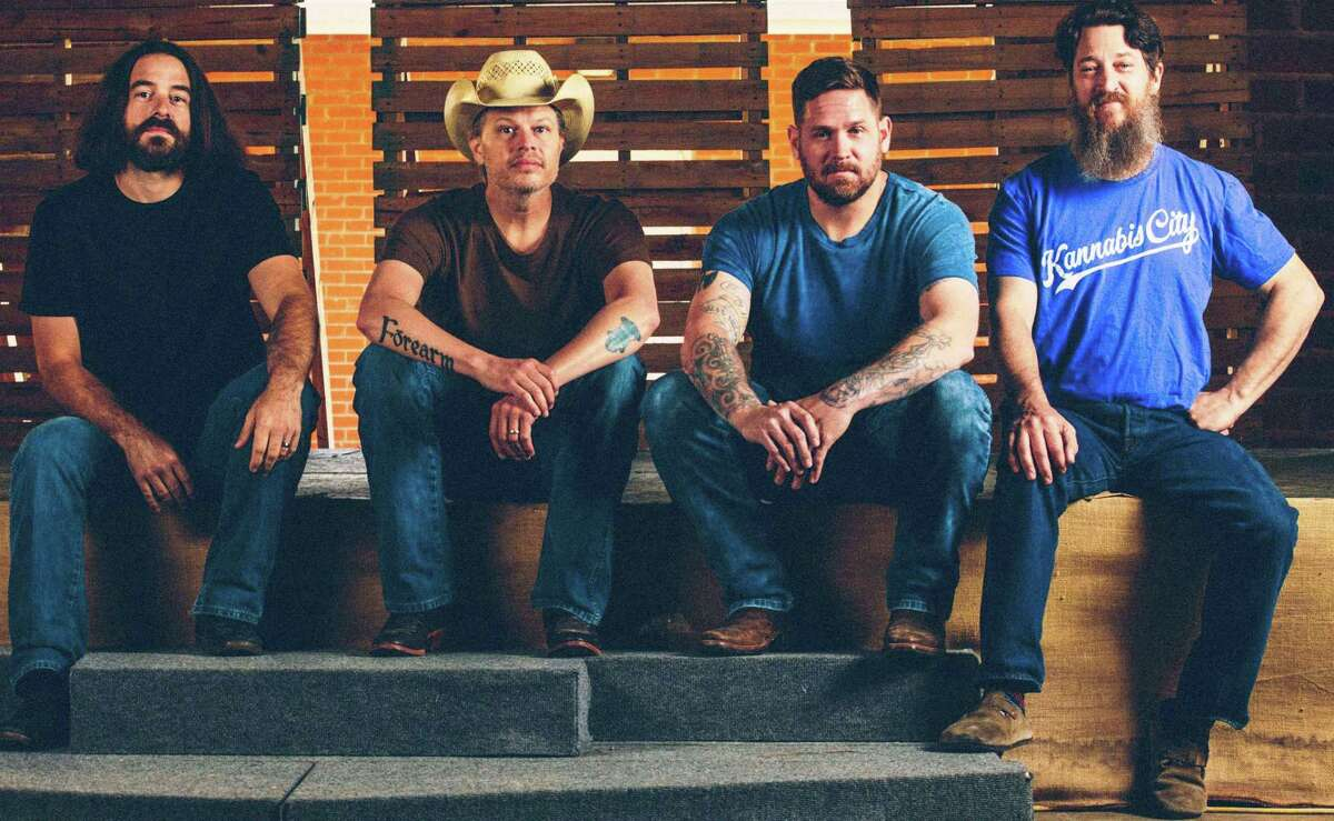 Jason Boland (in hat) & The Stragglers will perform on Aug. 6 at The Barn at The Frio in Cypress.
