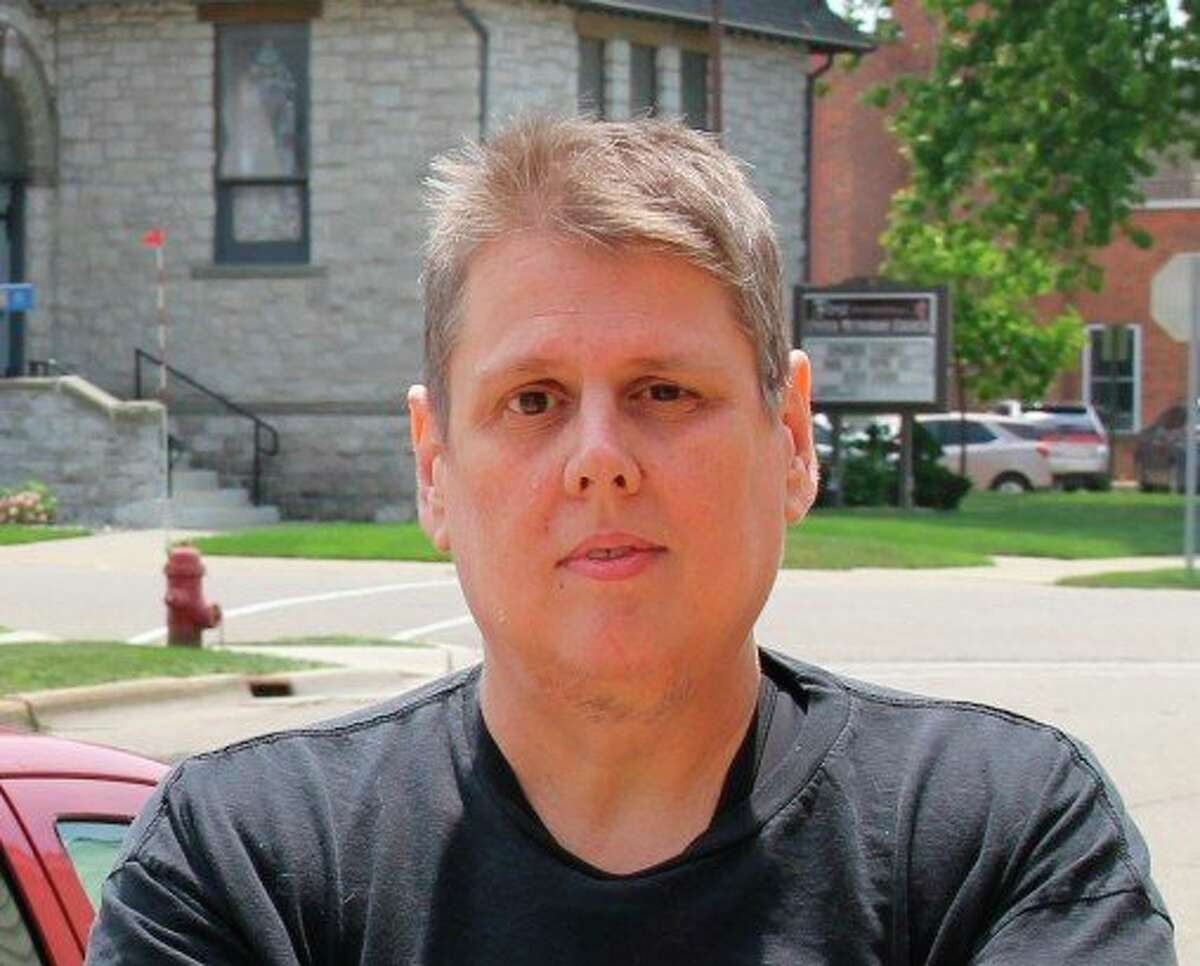 Mark Birdsall will be moving over from being the Huron Daily Tribune's sports editor to a news writer position. (Robert Creenan/Huron Daily Tribune)