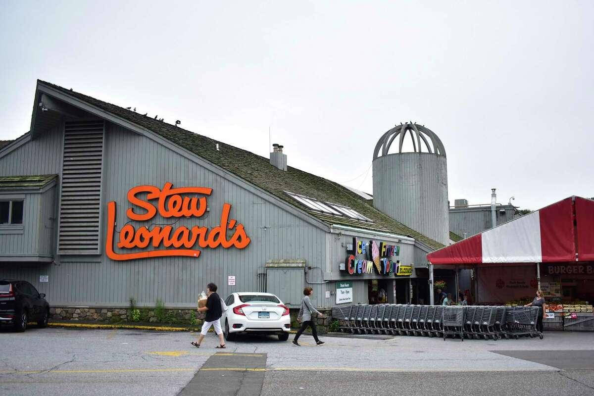 The exterior of Stew Leonard's in Norwalk on July 12, 2021.