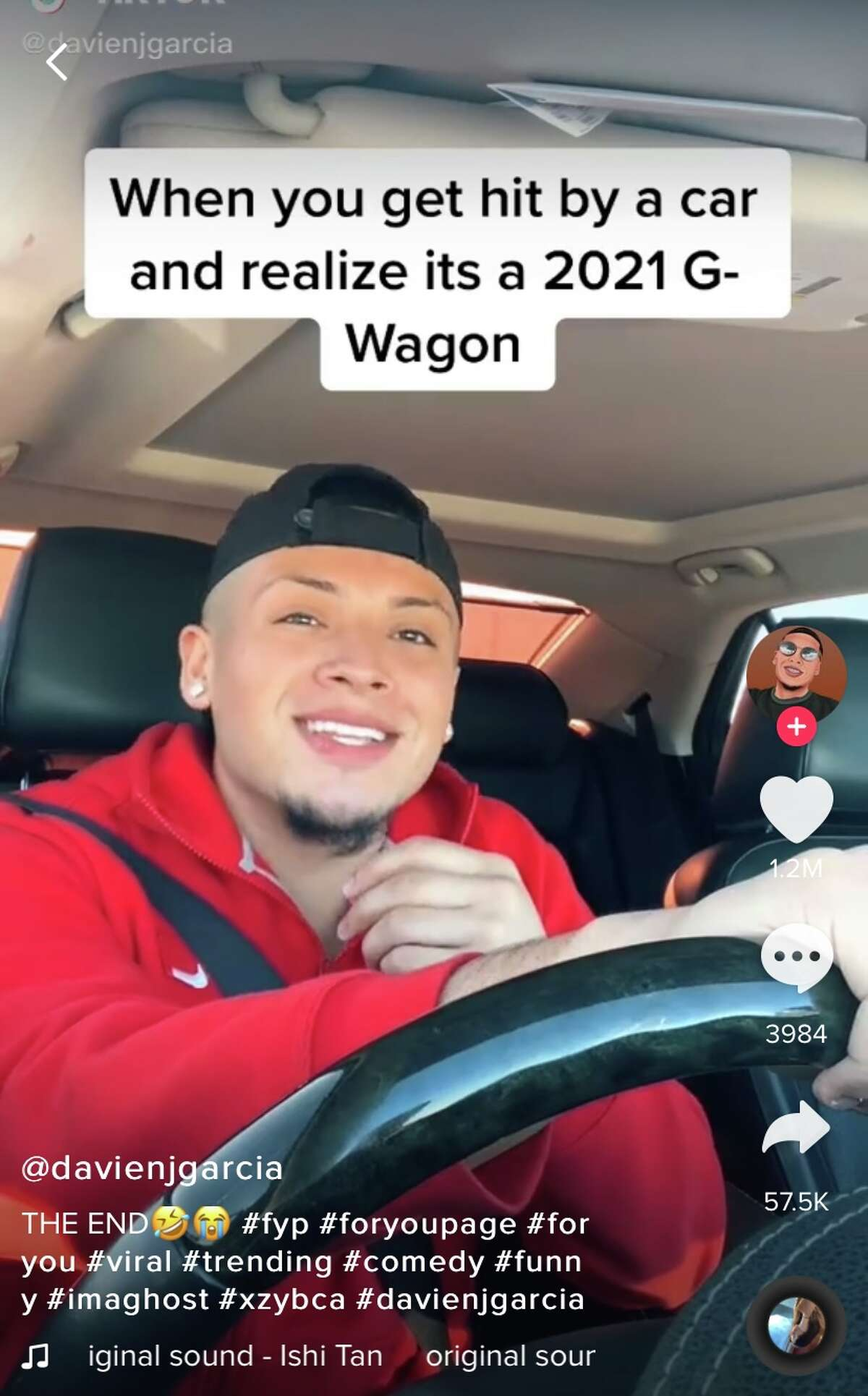 Plainview native Davien Garcia rose to social media fame on TikTok and now has a contract with a talent agent.