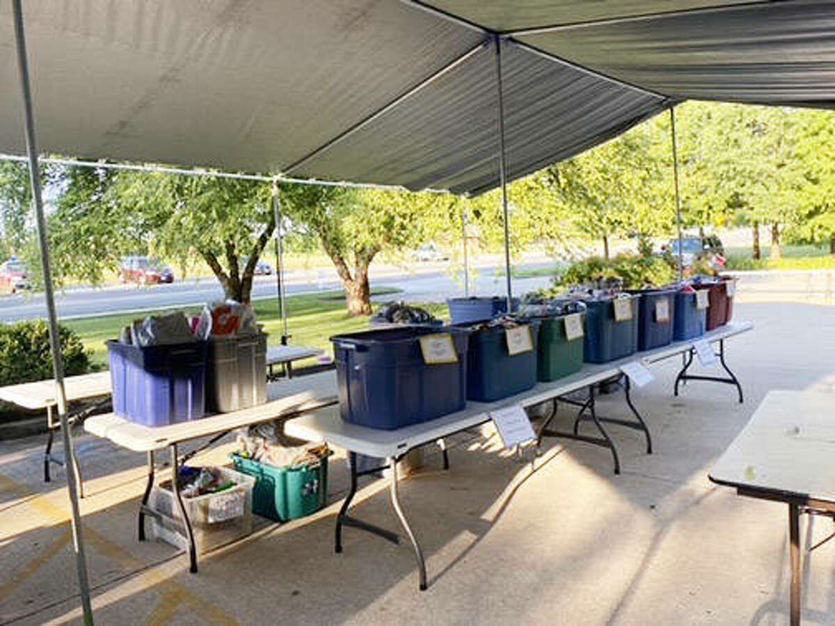 Items were prepared for distribution during last year's school supplies drive at Glen-Ed Pantry. This year's distribution of items is scheduled for 9-11 a.m. on Saturday, Aug. 7.