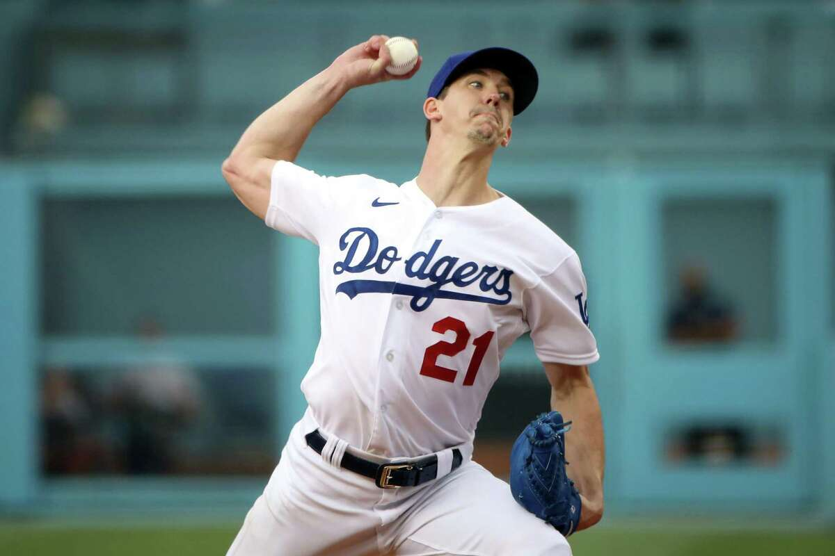 """Walker Buehler, who held the Giants to a run on five hits in 7 ?..."""" innings in San Francisco's 5-3 win at Dodger Stadium on Thursday night, is set to face the Giants again at Oracle Park at 6:45 p.m. Wednesday (NBCSBA/104.5, 680)."""