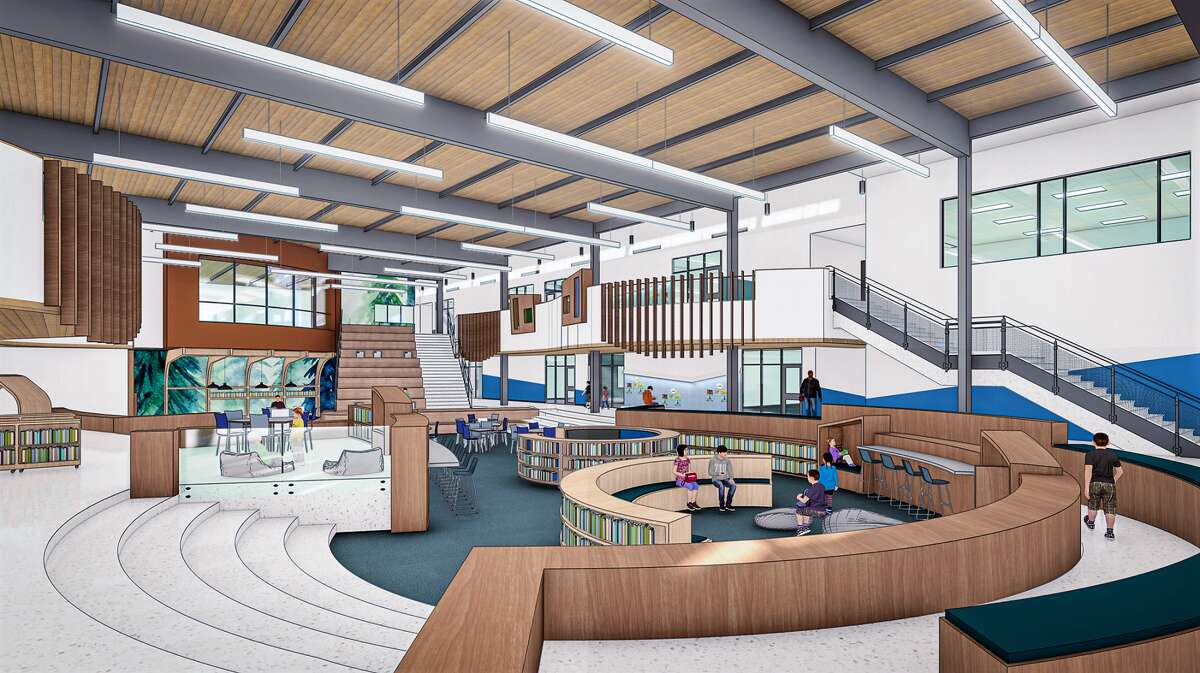 The learning commons planned for the Cline Elementary replacement campus will be a21st century version of a library.