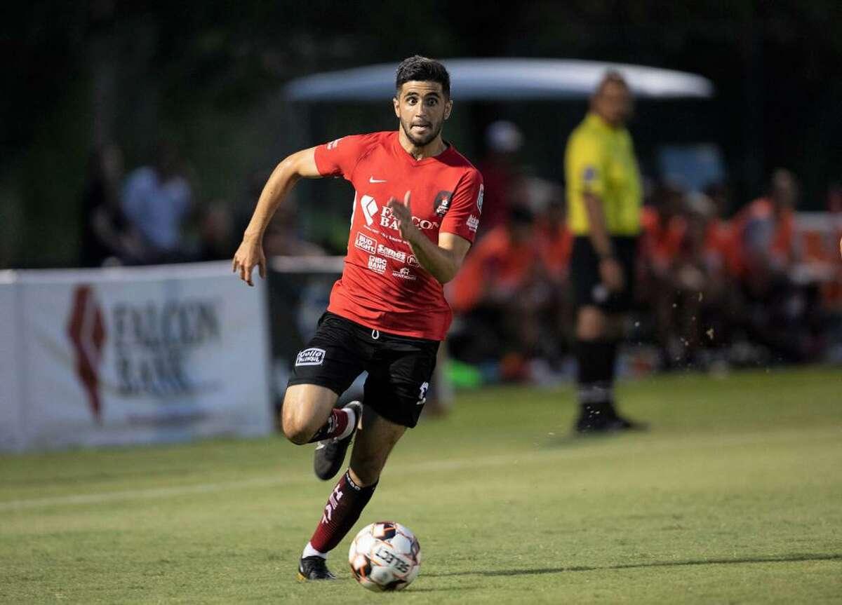 Laredo Heat SC forward Nadav Datner is a nominee for the NPSL's Golden Boot award after scoring 10 goals in 12 games this season.