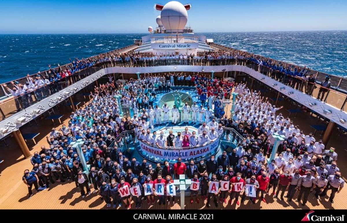 Carnival Miracle celebrates the return of Alaska cruises from Seattle