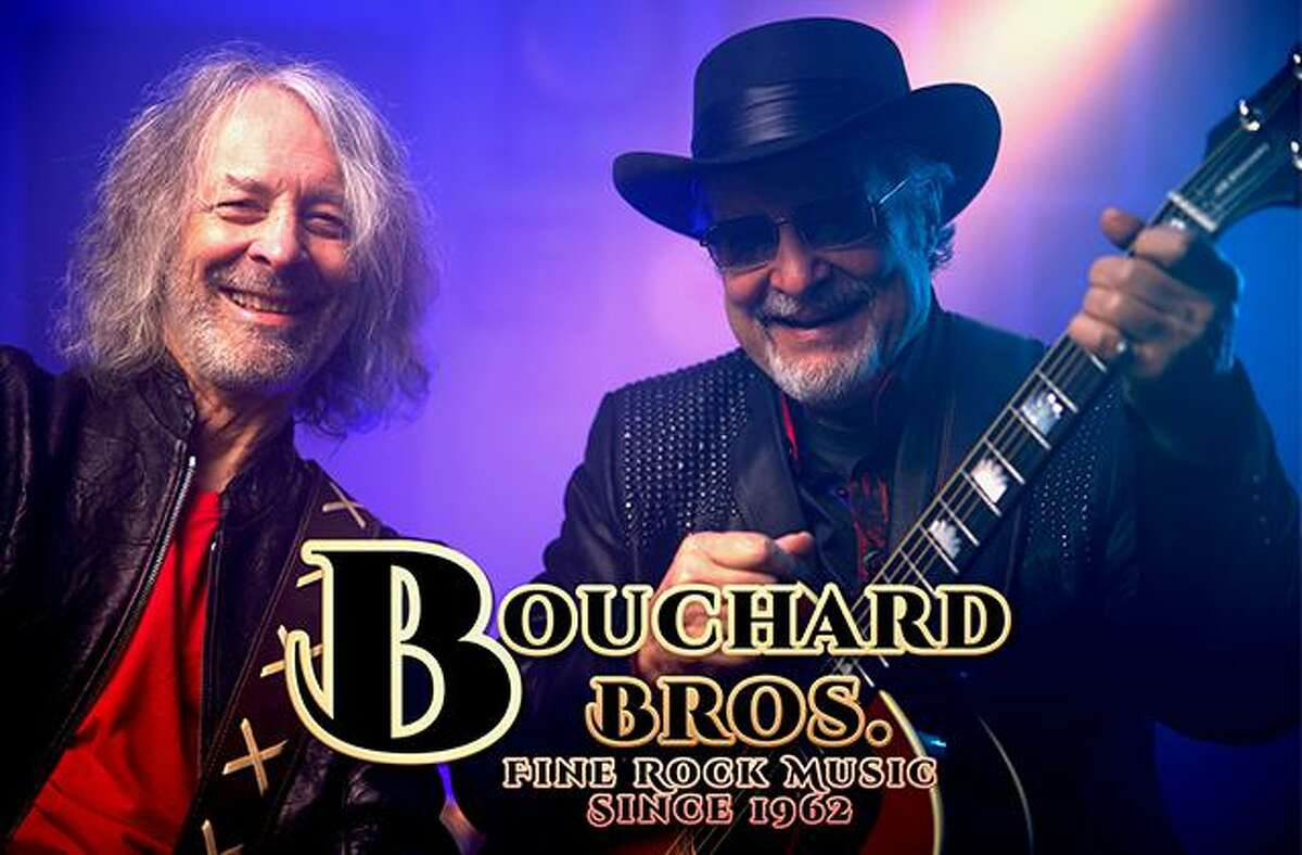 The Katharine Hepburn Cultural Arts Center presents two original founding members of Blue ?-yster Cult, The Bouchard Brothers with Joan Levy Hepburn, at 8 p.m. July 31.