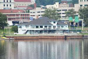 The now-closed Mattabesett Canoe Club, at 80 Harbor Drive on the Connecticut River at Harbor Park, is seen from River Road in Middletown. The city of Middletown has a preliminary agreement with A & R Lamonica Restaurants, which owns Eli Cannon's Tap Room at 695 Main St., to occupy the space.