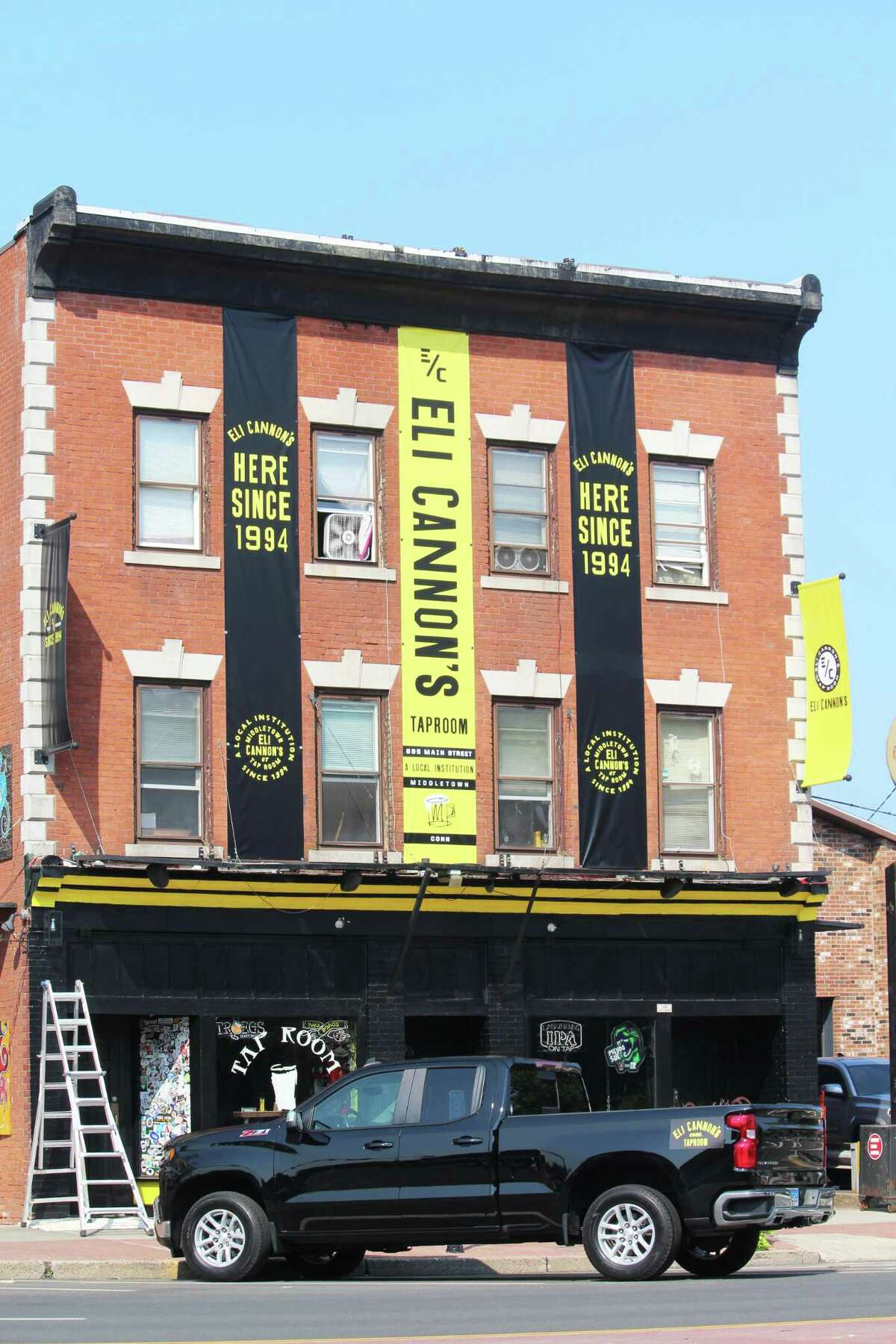 Eli Cannon's Tap Room, 695 Main St., Middletown, has changed its color scheme.