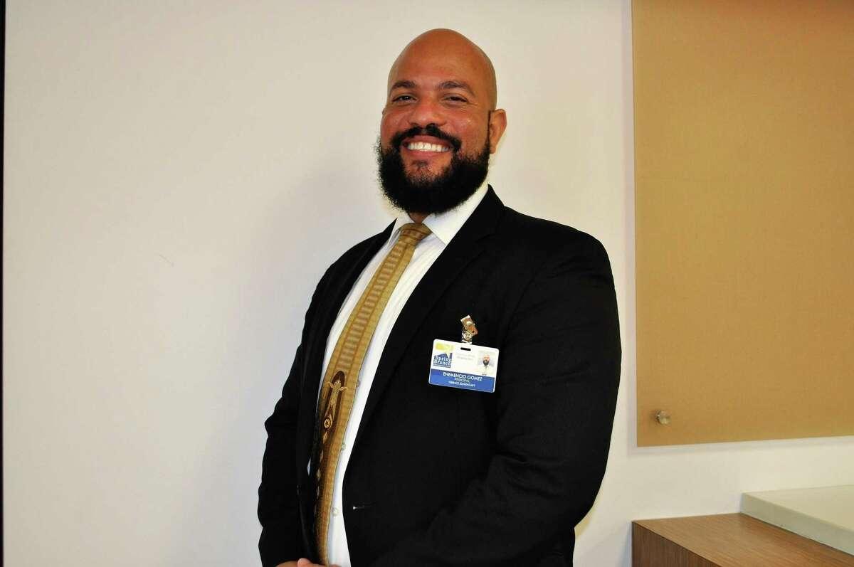 Enemencio Gomez is the new principal at Terrace Elementary School