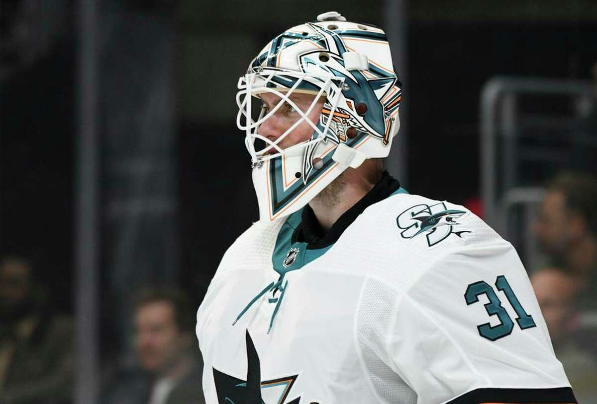 Martin Jones led the Sharks to the 2017 Cup Final but has had a sub-.900 save percentage each of the past three seasons.