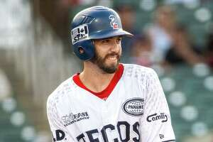 Since returning from injury, Kevin Medrano has manned center field for the Tecolotes Dos Laredos.