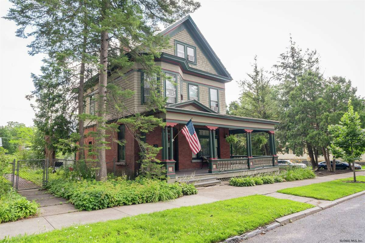 $725,000. 46 State St., Saratoga Springs. View listing.