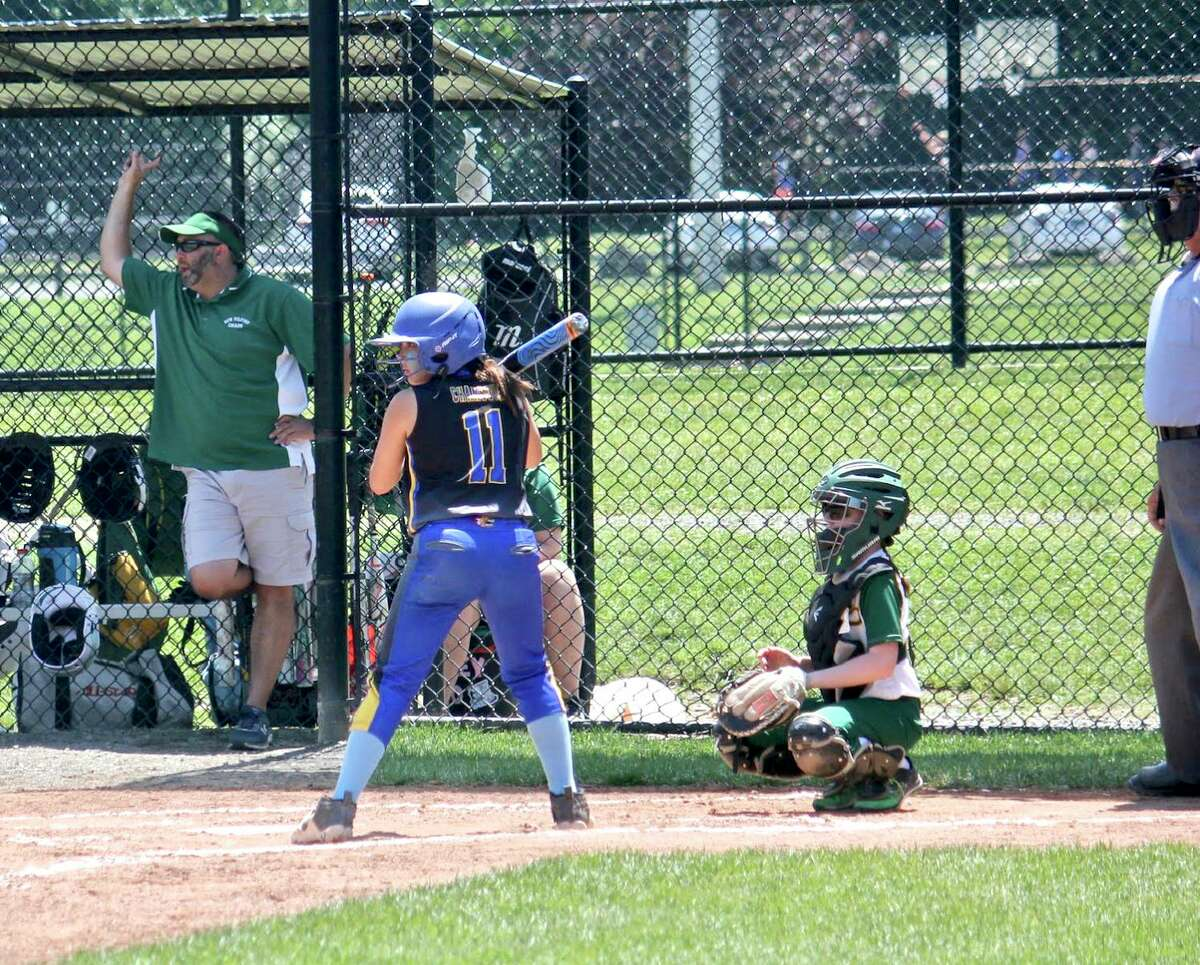 Brookfield Burn U10 girls' softball team is headed to Florida for the World Series today. Leah Chansouk, #11