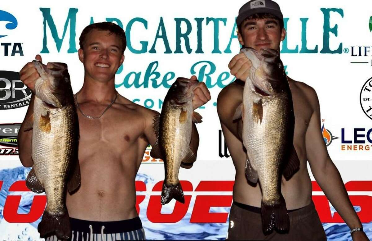 Mason Roach and Noah Pieniazek came in first place in the CONROEBASS Tuesday Tournament with a weight of 15.32 pounds.