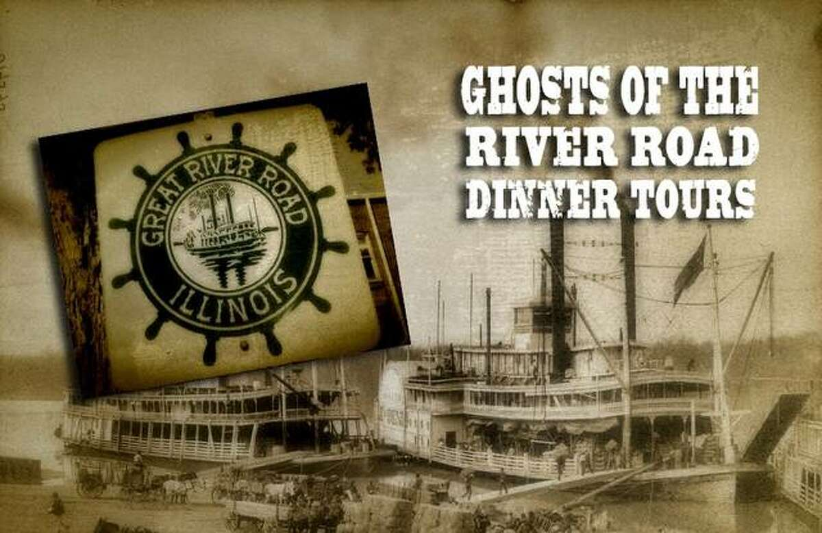 The Ghosts of the River Road Tour is set for Friday, July 30 at Bluff City Grill, 424 E. Broadway, in Alton 7-10 p.m.
