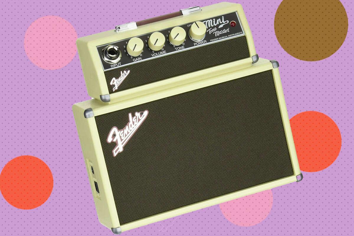 Fender mini tonemaster battery-powered amp