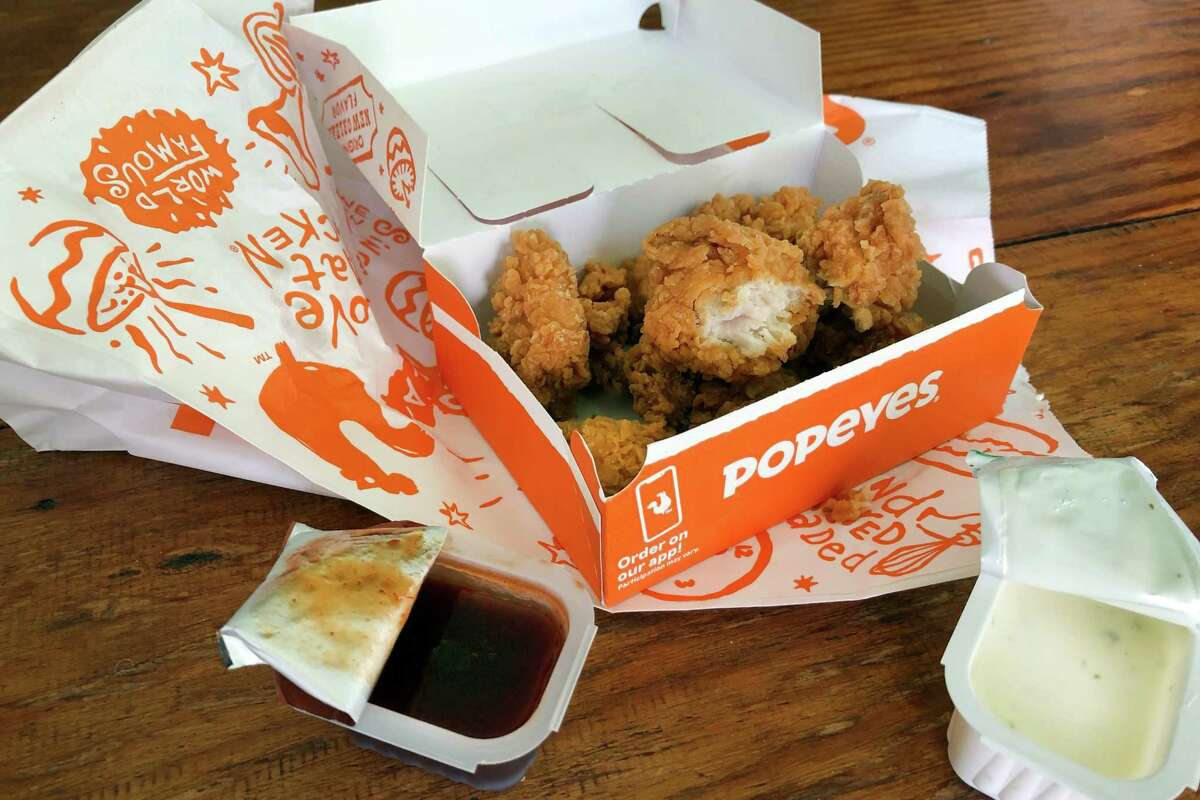 The new Popeyes chicken nuggets capture the look, but none of the flavor, of The Sandwich.