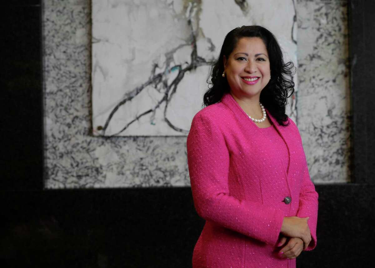 Laura Murillo, president and CEO of the Houston Hispanic Chamber of Commerce shown Wednesday, May 23, 2018, in Houston
