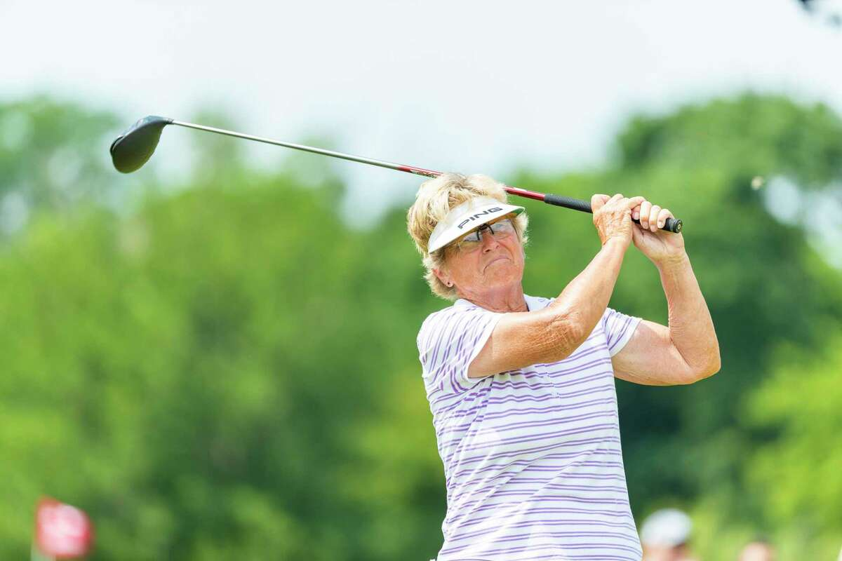 Jerilyn Britz returns to Brooklawn Country Club to play in the U.S. Senior Women's Open this week. Britz won the 1979 U.S. Women's Open held at Brooklawn CC.