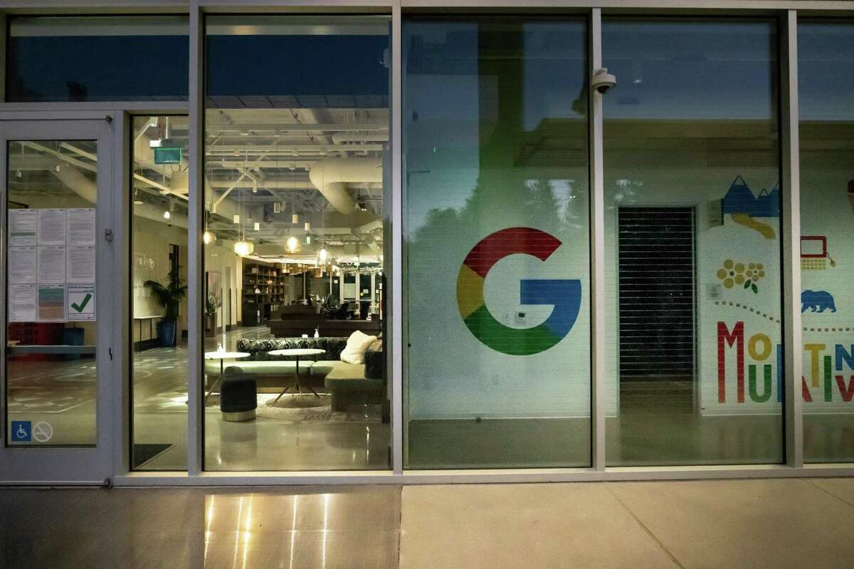 A nearly empty Googleplex, Google's campus, on Wednesday, July 15, 2020 in Mountain View, Calif.