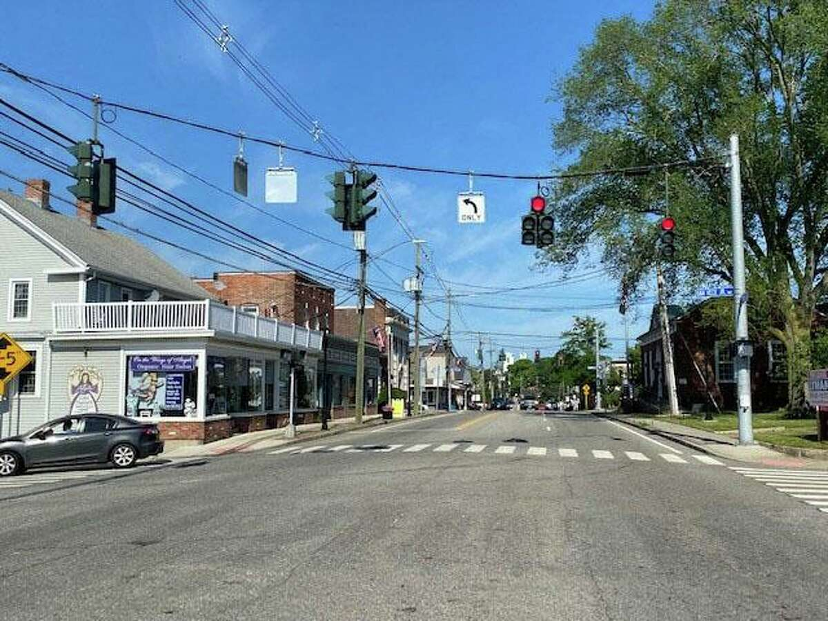 The corner of Route 1 and Hull Street today