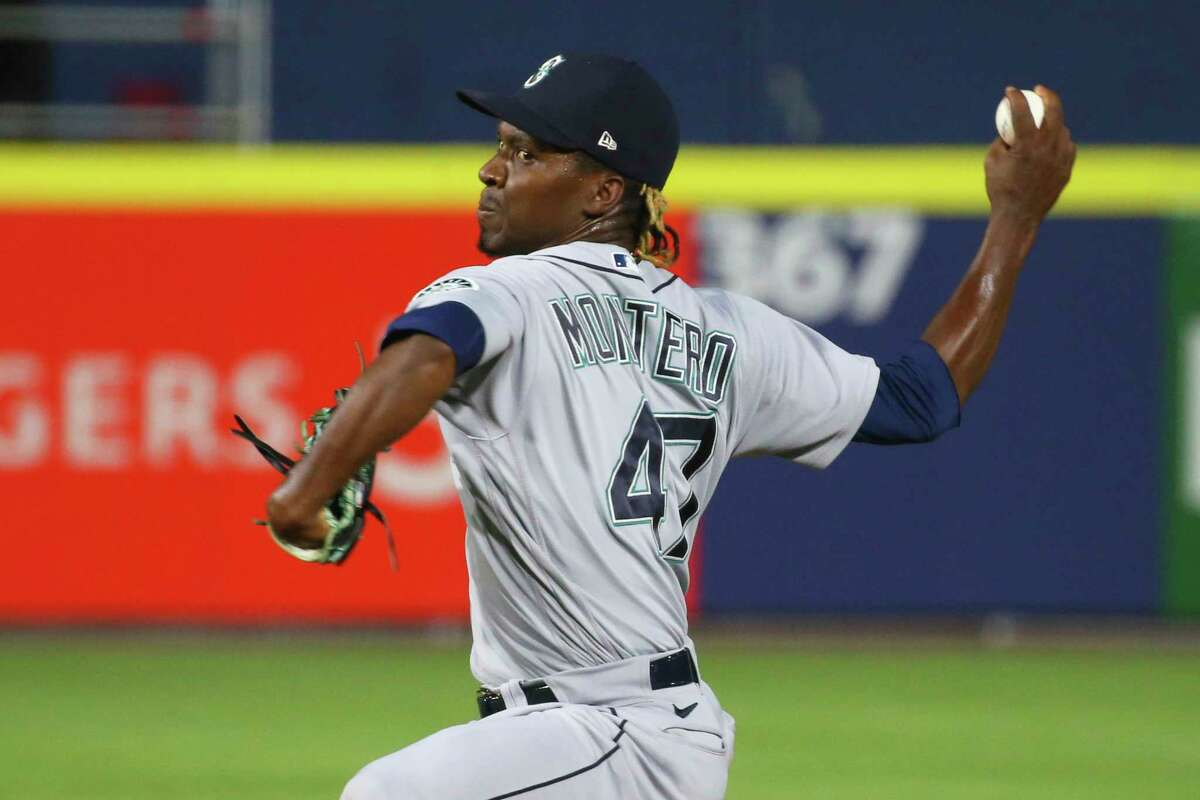 Rafael Montero struggled with the Mariners to the point of being designated for assignment but is looking forward to a new chapter with the Astros.