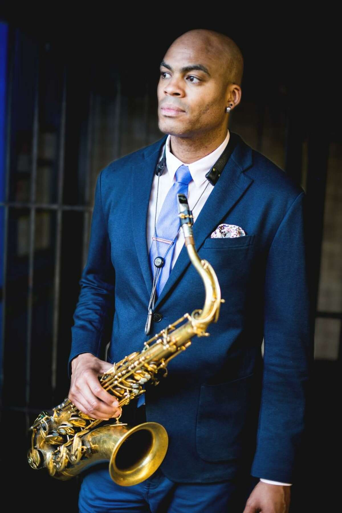 """The art museum, MoCA Westport 2021 Fall Benefit that is titled: """"The Art of Jazz,"""" will be an evening celebration of art, music, and giving, that will feature a silent auction, live auction, and live music by Grammy Award-winning Jazz Tenor Saxophonist Wayne Escoffery, (pictured), at the art museum on Saturday, Sept. 18. The live auction is also being hosted by Dave Briggs, of Westport, who is also a former anchor at the CNN, NBC Sports, and Fox News television networks."""