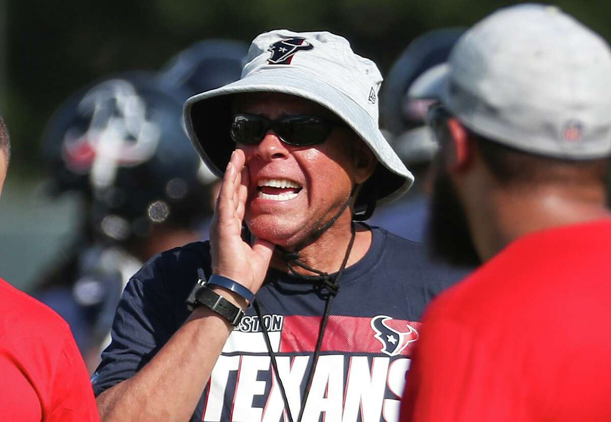 On the opening day of his first training camp as a head coach, the Texans' David Culley had nothing of substance to say about embattled quarterback Deshaun Watson.