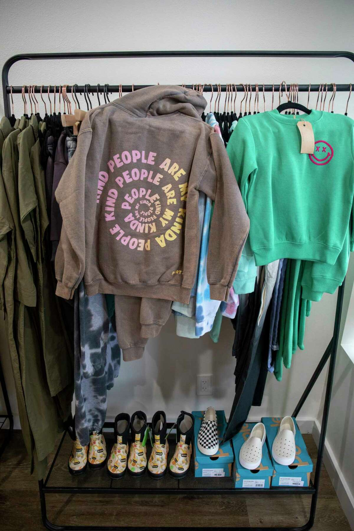 Clothing items at Jude and Grey as seen on Wednesday, July 28, 2021 at 201 W. Wall St. Jacy Lewis/Reporter-Telegram
