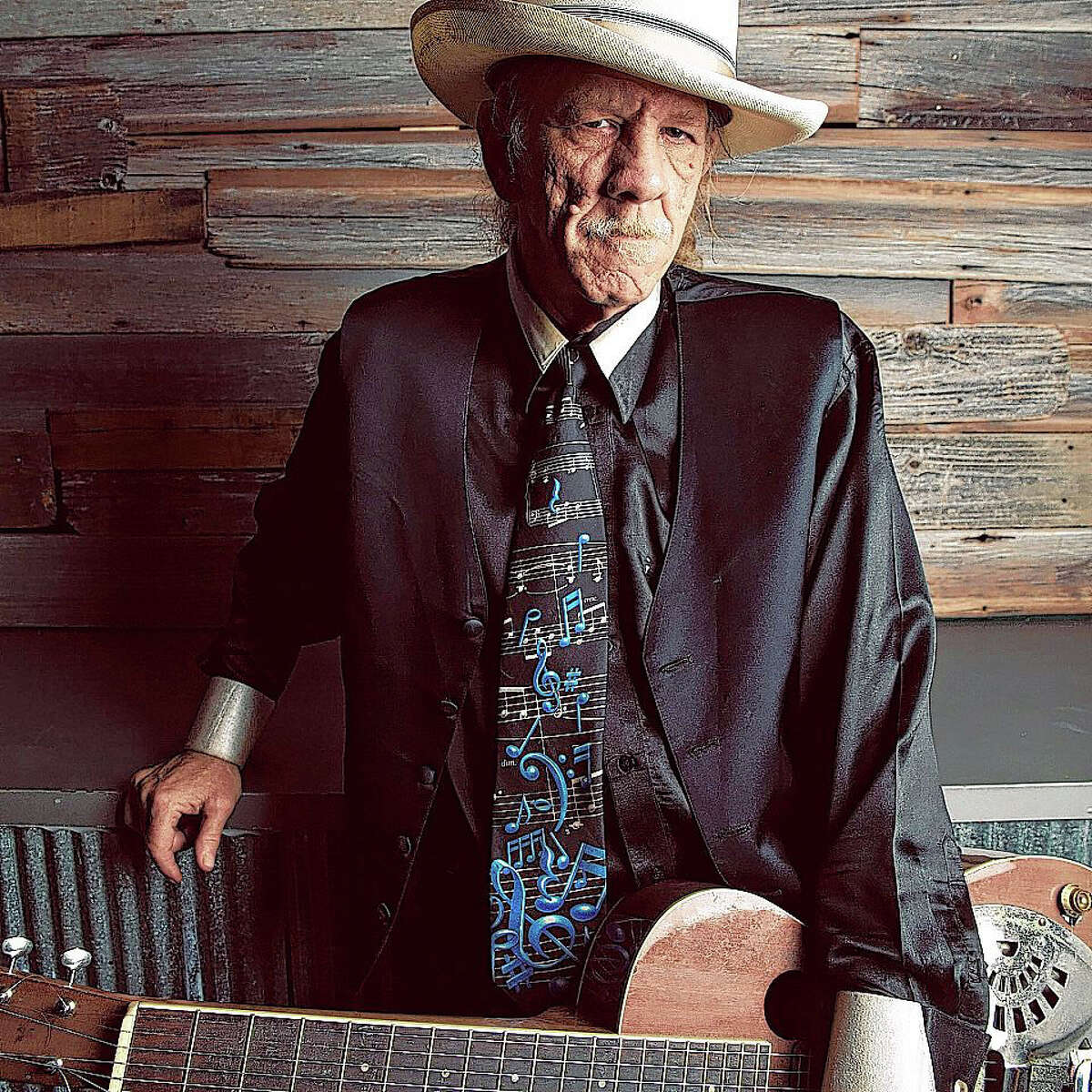 Blues musician Watermelon Slim will be in concert Friday as part of Jacksonville Main Street's Downtown Concert Series.