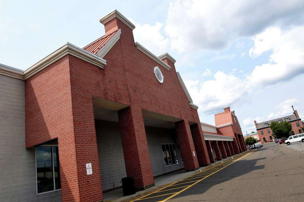 The building that formerly housed A.C. Moore Arts & Crafts in the Christmas Tree Shops and That! shopping plaza in Orange.