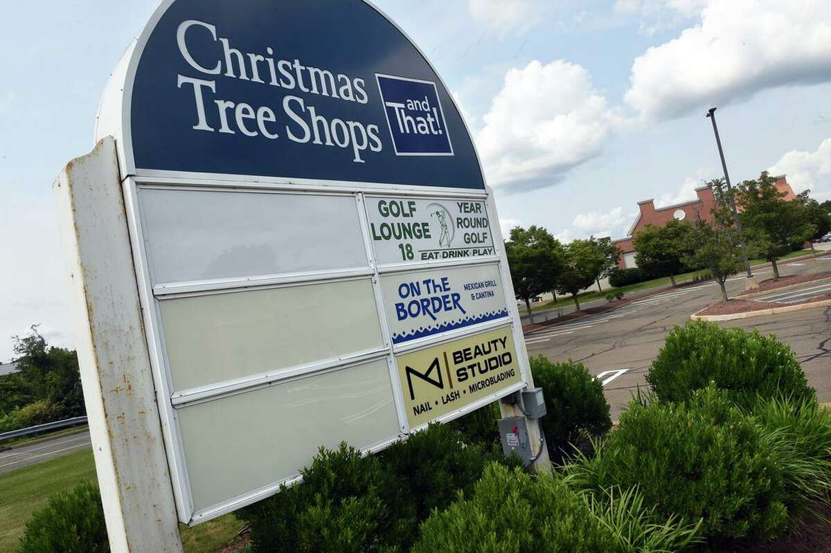 The Christmas Tree Shops and That! shopping plaza in Orange.