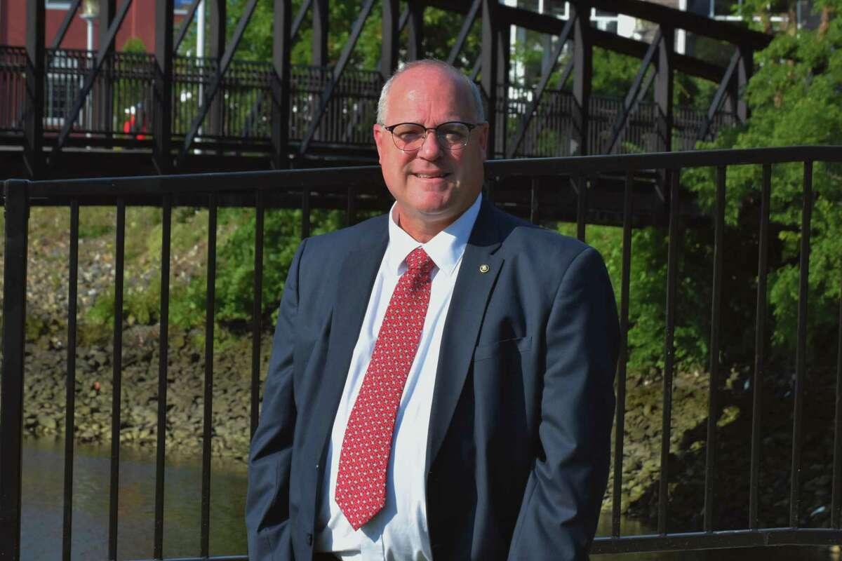 Peter Berube is running for Milford mayor