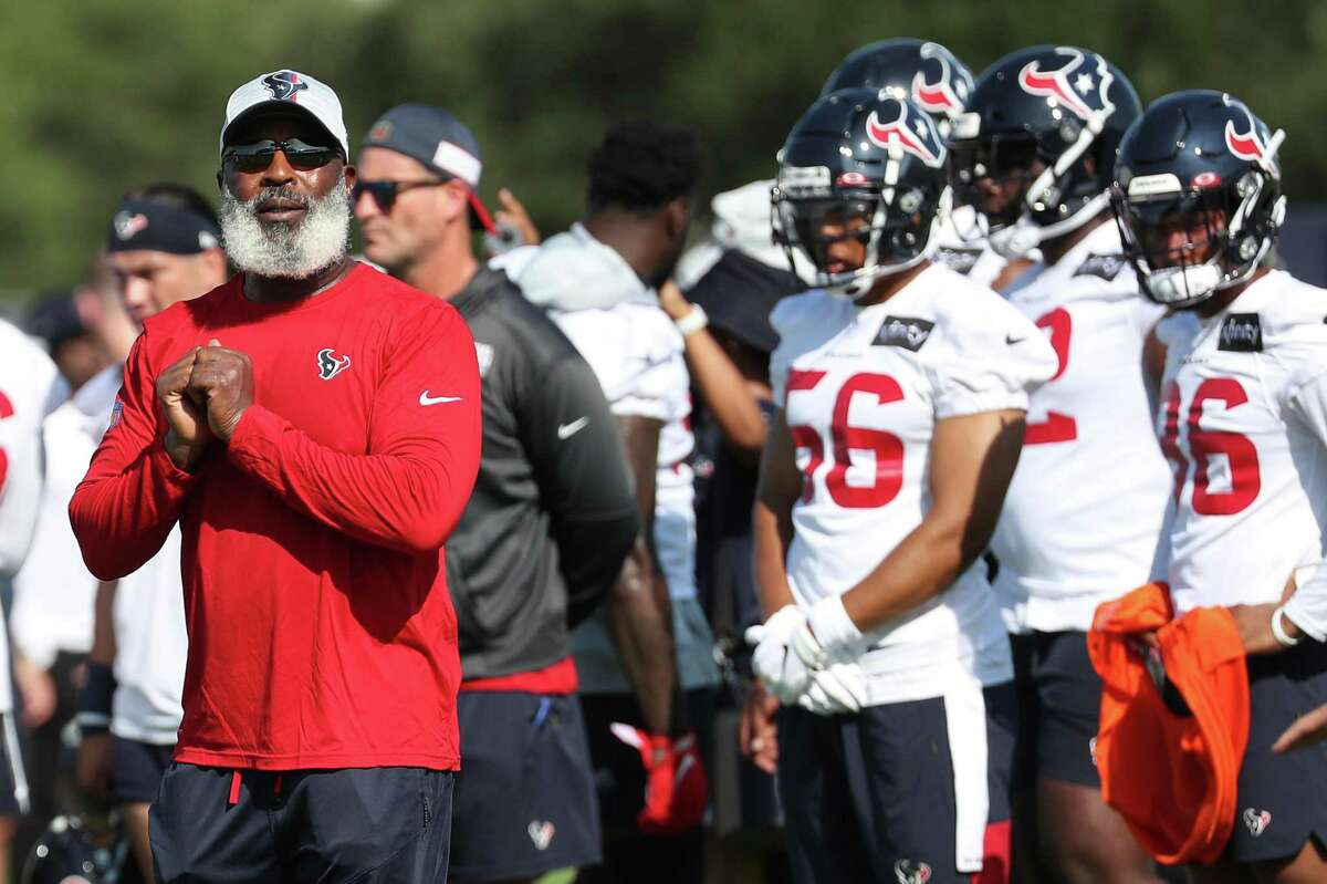 New Texans defensive coordinator Lovie Smith will coach from the sideline during Saturday night's preseason opener at Green Bay.