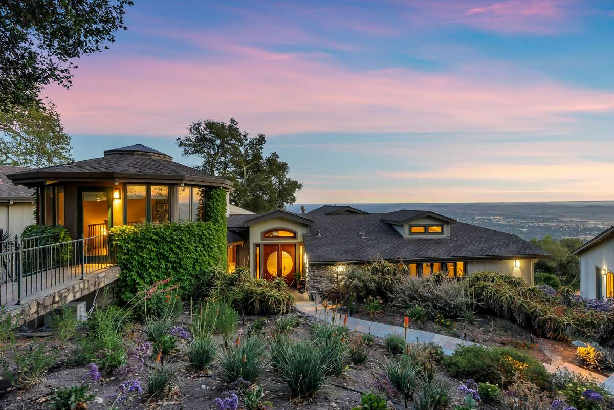 The home is 4,400 square feet and offers sweeping views.