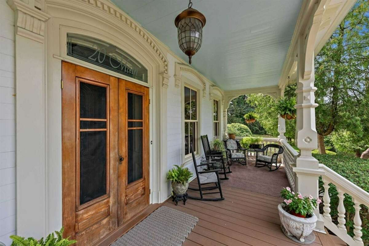 This restored 1870 Victorian is just a short walk from the New Hamburg train station and the Hudson River, located at 20 Main Street, New Hamburg, in the southwestern corner of the Town of Poughkeepsie. The home is almost 3,400 square feet and comes with a 600-square foot cottage that one could use as a separate work or guest space, also located on the 1.45 acre lot. Four bedrooms and three bathrooms. Wappingers Central school district. Taxes: $12,711. List price: $845,000. Contact listing agent Lindsay Rothman of Compass Greater NY LLC NY at lindsay.rothman@compass.com. View listing.