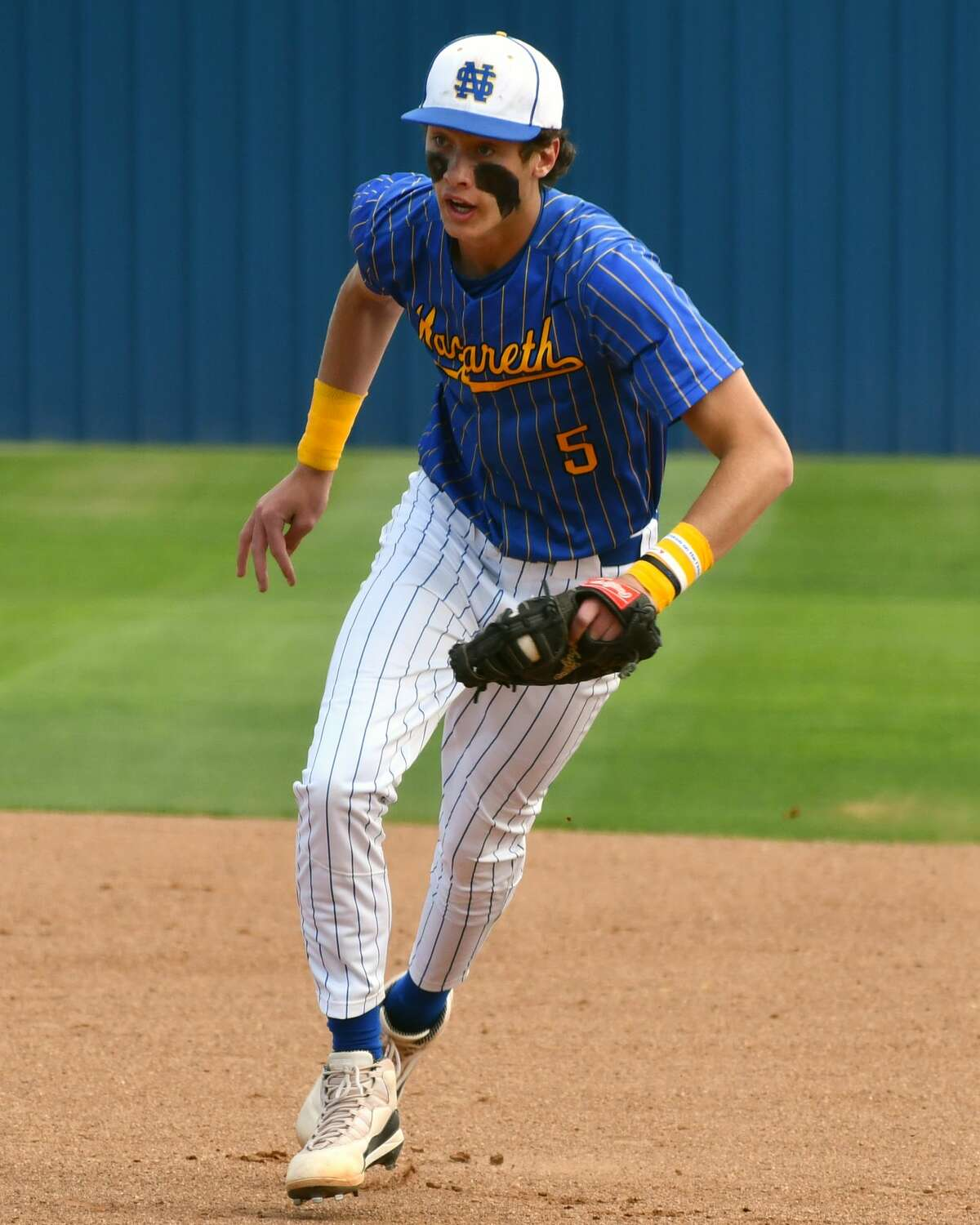 Nazareth's Kaden Cleavinger was a first team All-State selection in Class 1A as a pitcher.