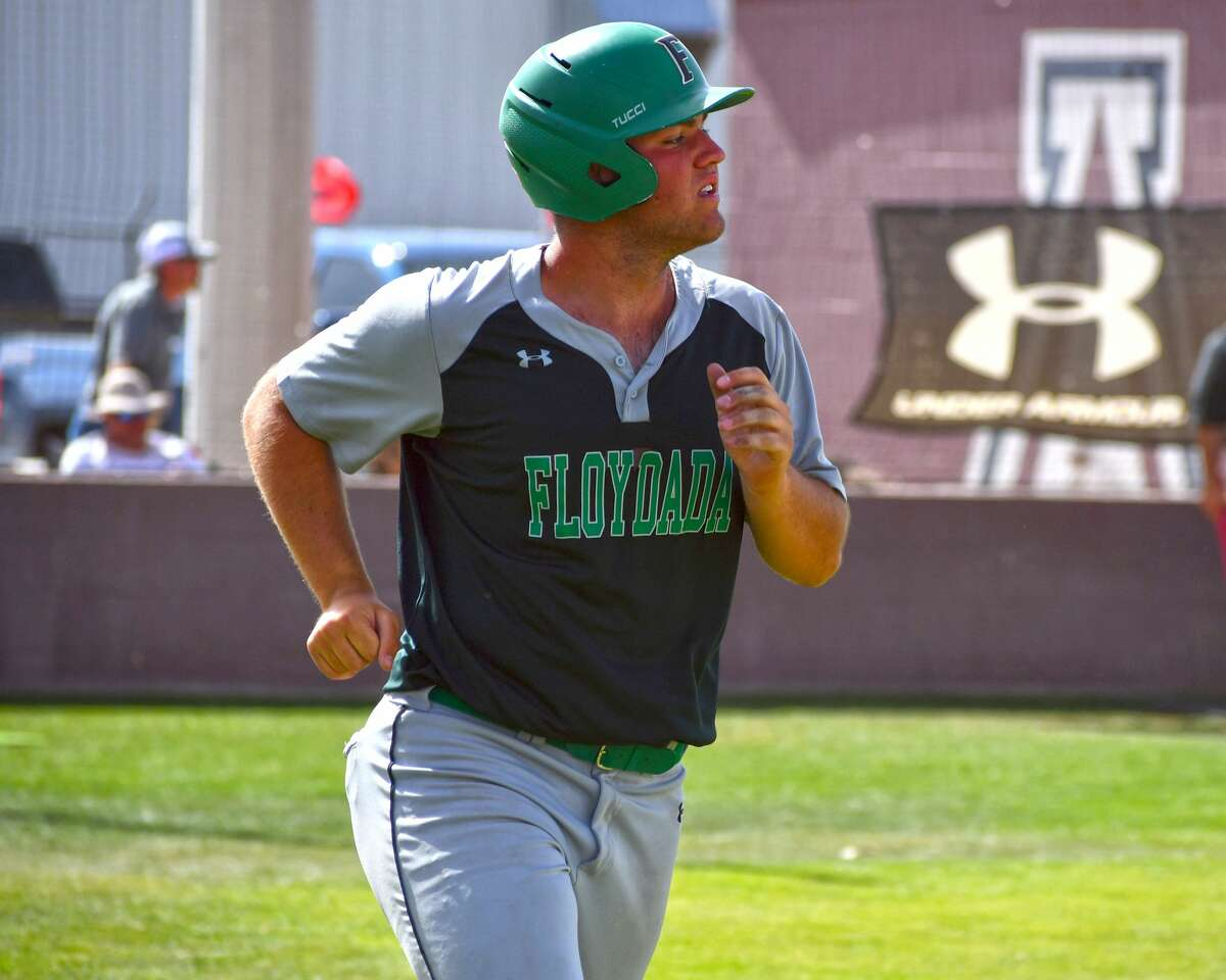 Floydada's Luke Holcombe earned second team All-State honors in Class 2A from the Texas Sports Writers Association.