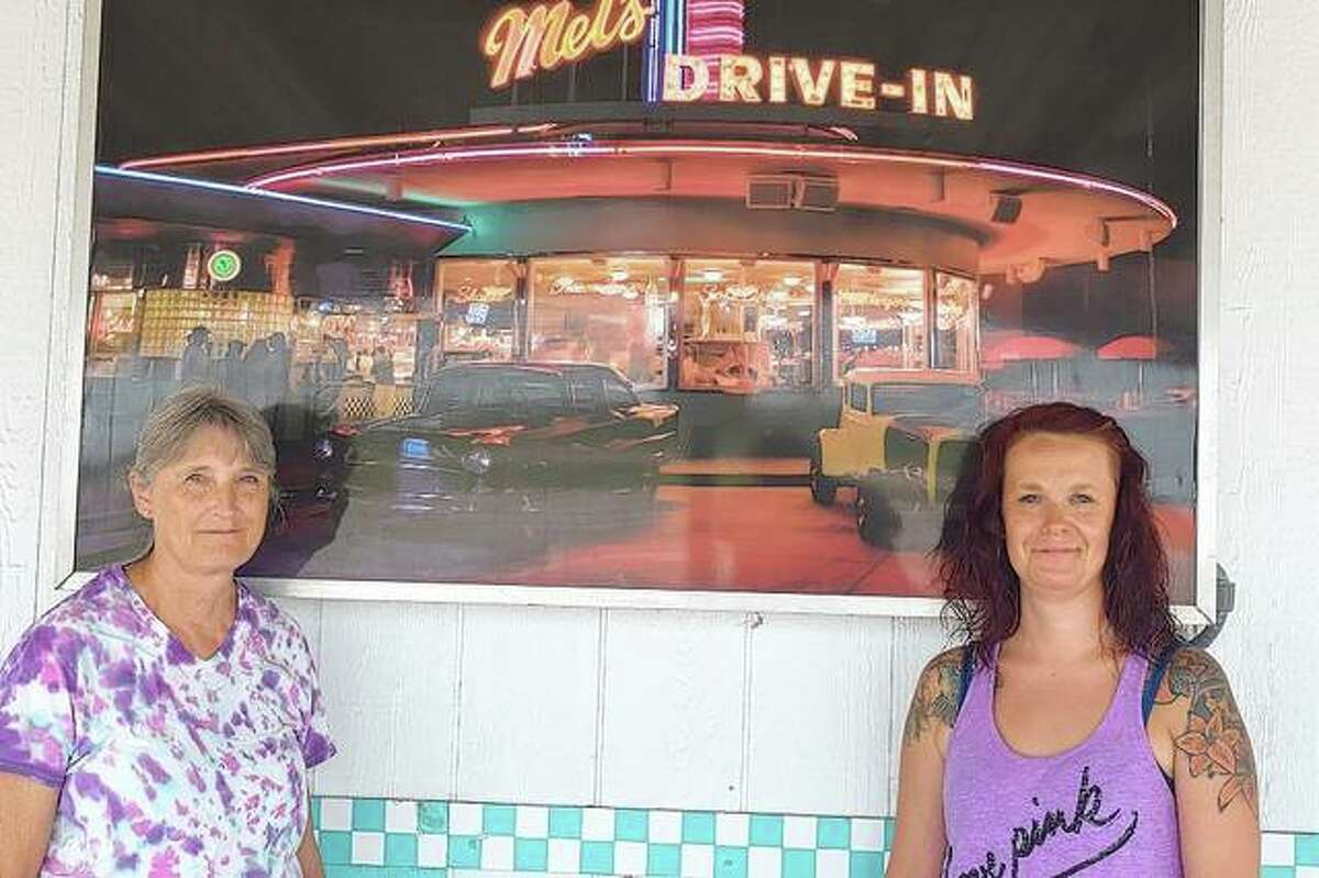 Kortny Bland (right) will be opening Rockin Robyn's, named after her mother, Robyn Bland (left), next month.