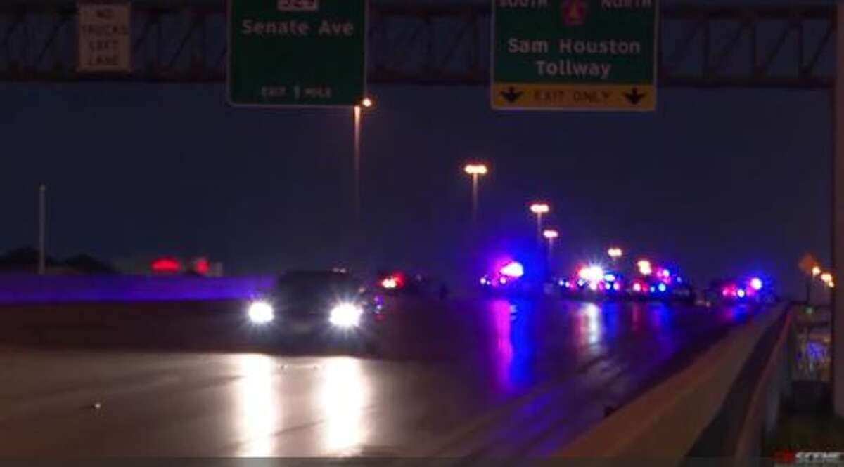 A motorcyclist was killed in a suspected hit-and-run Thursday morning in northwest Houston, according to police.