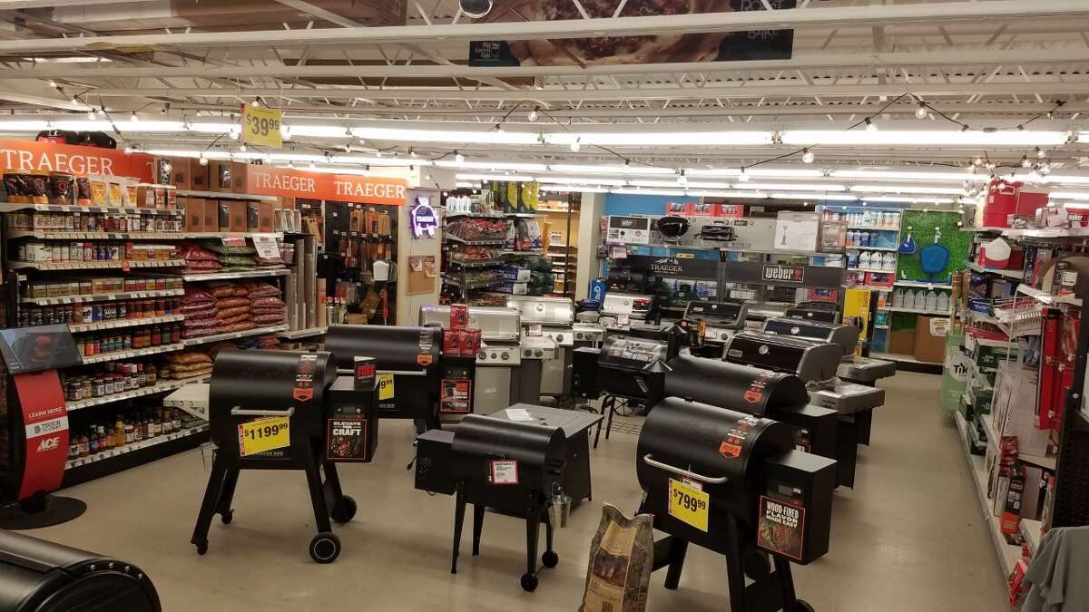 """Thruway Ace Hardware, located in Walden, has had grills on their floor all summer, thanks to preordering nearly a year in advance. Lowe's in Newburgh said """"grills are definitely moving,"""" as Americans continue to entertain a lot at home in the ongoing pandemic."""