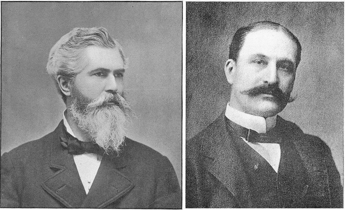 Drs. Washington Wentworth Sheffield (left) and Lucius Tracy Sheffield.