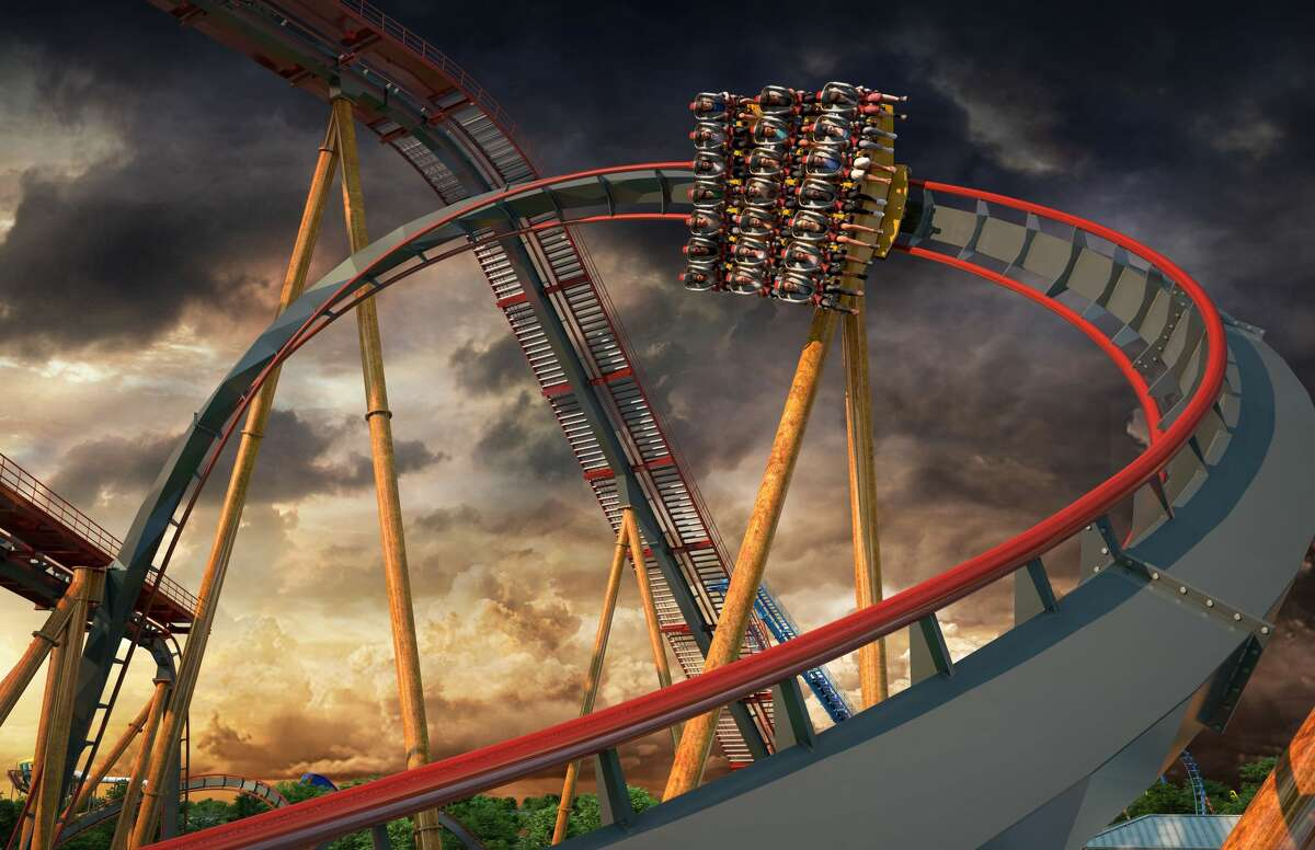 The new roller coaster at Six Flags Fiesta Texas will fly in next year with a zero gravity roll.