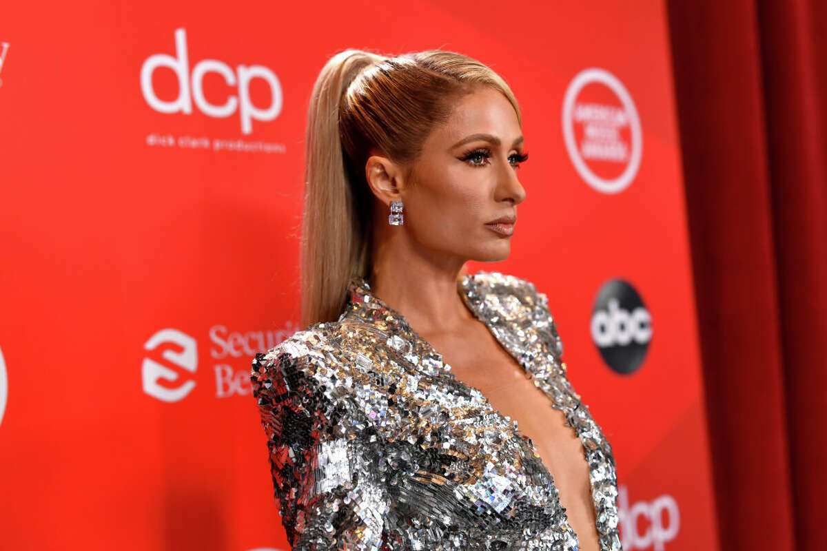 Paris Hilton attends the 2020 American Music Awards at Microsoft Theater on November 22, 2020 in Los Angeles, California.