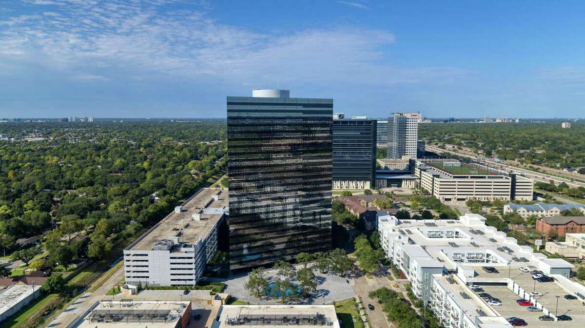 The 2500 CityWest office building in Westchase is owned by a joint venture of Patrinely Group and USAA Real Estate. Aspen Technology renewed a lease in the building.