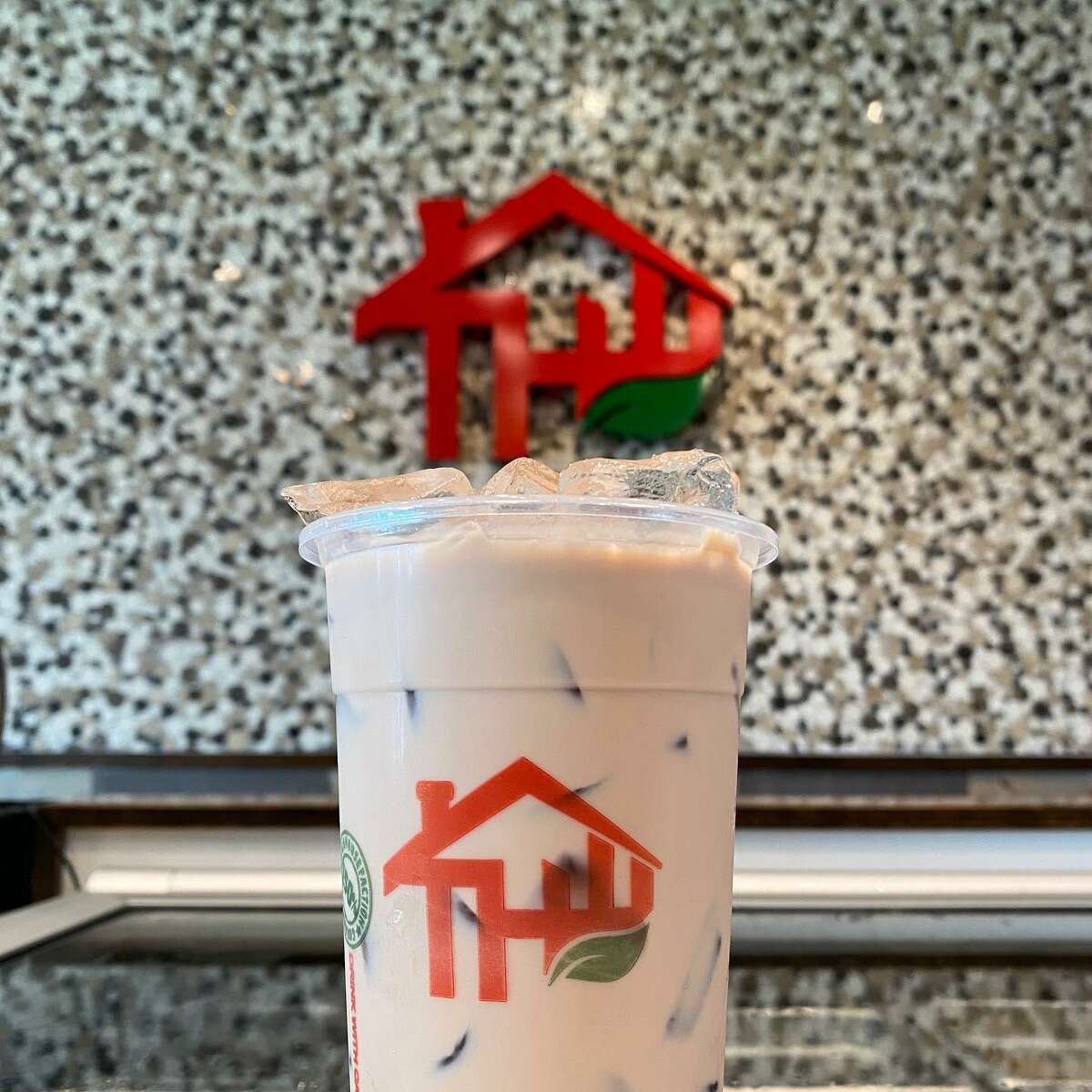 The Teahouse Tapioca and Tea menu includes a variety of cold or hot teas.