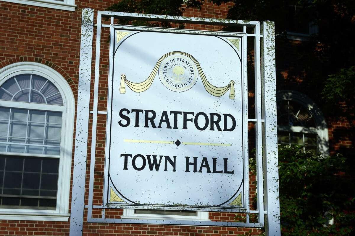 Stratford Town Hall, in Stratford, Conn. July 28, 2021.