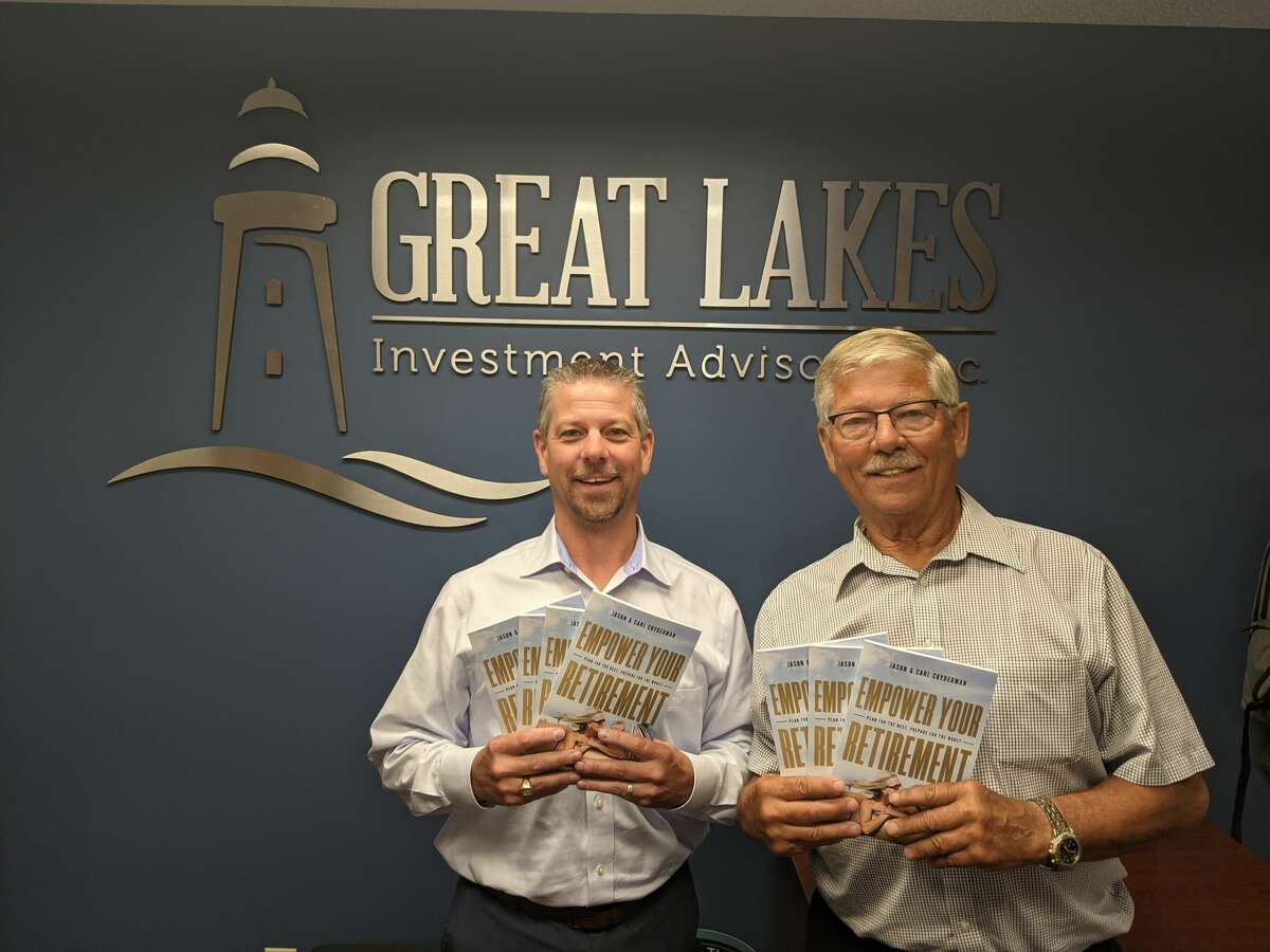 """Jason Cryderman, left, and Carl Crydermanhave published their first book, """"Empower Your Retirement - Plan For The Best, Prepare For The Worst."""""""