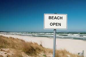Caseville beach has been reopened by the Huron County Health Department following re-testing results. (File Photo)